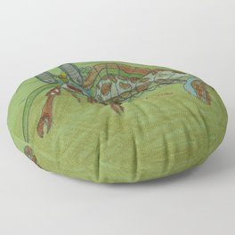 Mantis Shrimp Floor Pillow