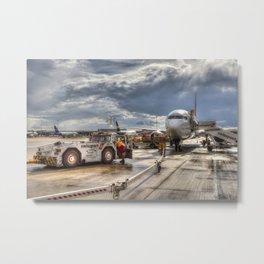 Heathrow Airport London Metal Print
