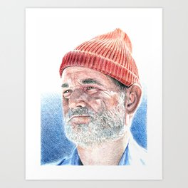 LifeAquatic  Art Print