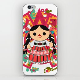 Maria 4 (Mexican Doll) iPhone Skin