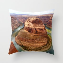 Horseshoe Bend, Arizona Throw Pillow