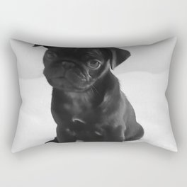 Pug Mitxiru Rectangular Pillow