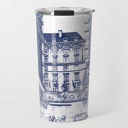 The Savoy Hotel, London Travel Mug