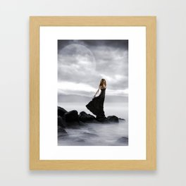 Patiently Framed Art Print