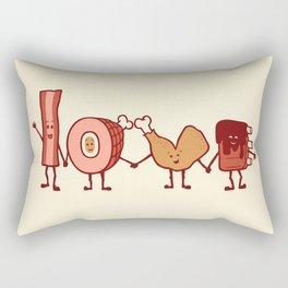 Meat Love U Rectangular Pillow