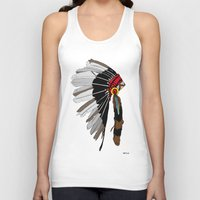 native Tank Tops featuring Native  by weliketrees