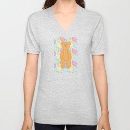 Teddy Bear Bonanza Unisex V-Neck