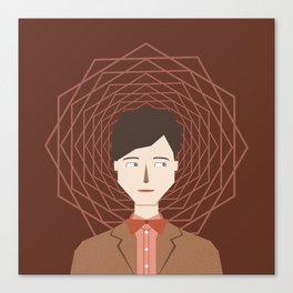 The Doctor (Matt Smith) Canvas Print