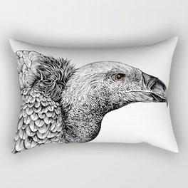 White-backed Vulture Rectangular Pillow