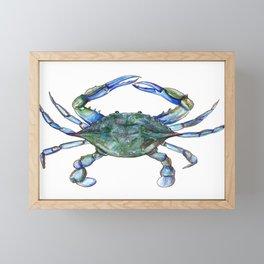 Maryland Crab Framed Mini Art Print