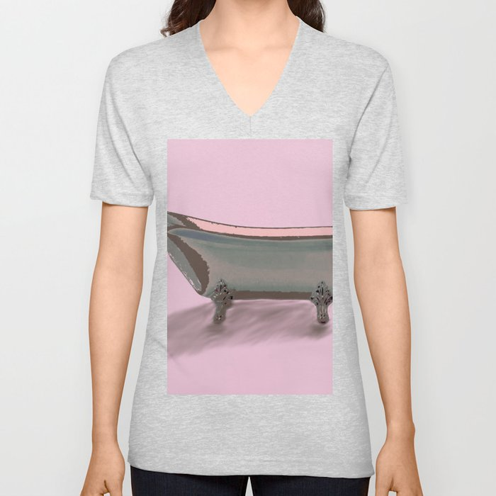 Bathtub Unisex V-Neck