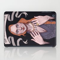 sansa stark iPad Cases featuring Sansa by Sara Meseguer