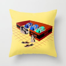 END OF LINE Throw Pillow