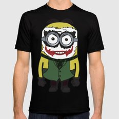 Joker Minion Mens Fitted Tee Black 2X-LARGE