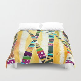 Runk Trees Duvet Cover