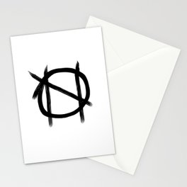 nihilistic impulses Stationery Cards