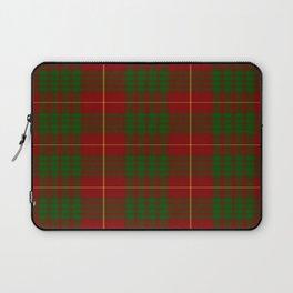 Cameron Red & Green Tartan Pattern #2 Laptop Sleeve