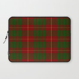 Cameron Red & Green Tartan Pattern #2 Laptop Sleeve