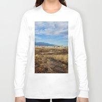 arizona Long Sleeve T-shirts featuring Arizona by Ian Bevington