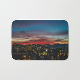 Seattle Sunset Bath Mat