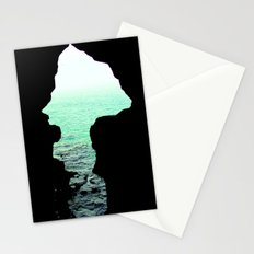 Out of cave Stationery Cards