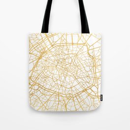 PARIS FRANCE CITY STREET MAP ART Tote Bag