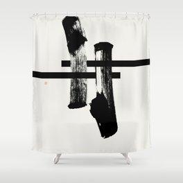 #torii (West Meets East Series) Shower Curtain