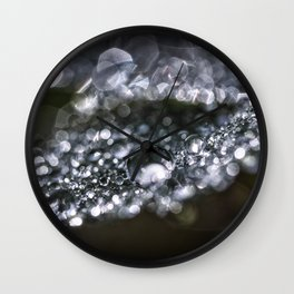 Raindrop world Wall Clock
