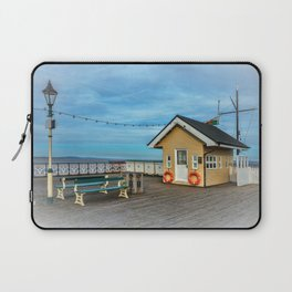 On Penarth Pier Laptop Sleeve