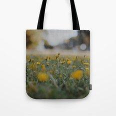 Yellow Summer Tote Bag