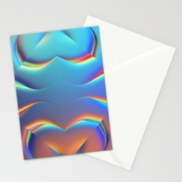 Holographic Abstract Kaleidoscope - Naboo Stationery Cards