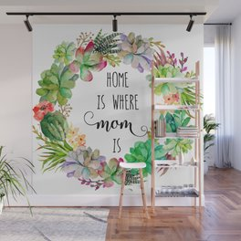 Home Is Where Mom Is Wall Mural