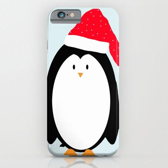Christmas Penguin iPhone & iPod Case