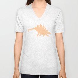 Dinomania - Stegosaurus Unisex V-Neck
