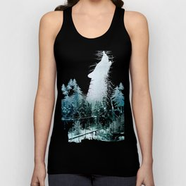 Cold Forest Playground Unisex Tank Top