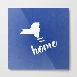 New York Equals Home Metal Print