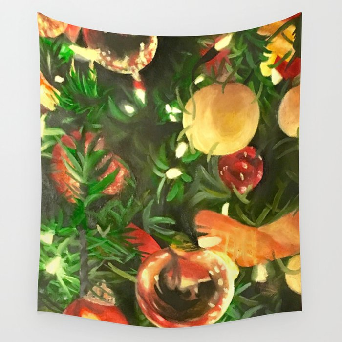 Evergreen Wall Tapestry