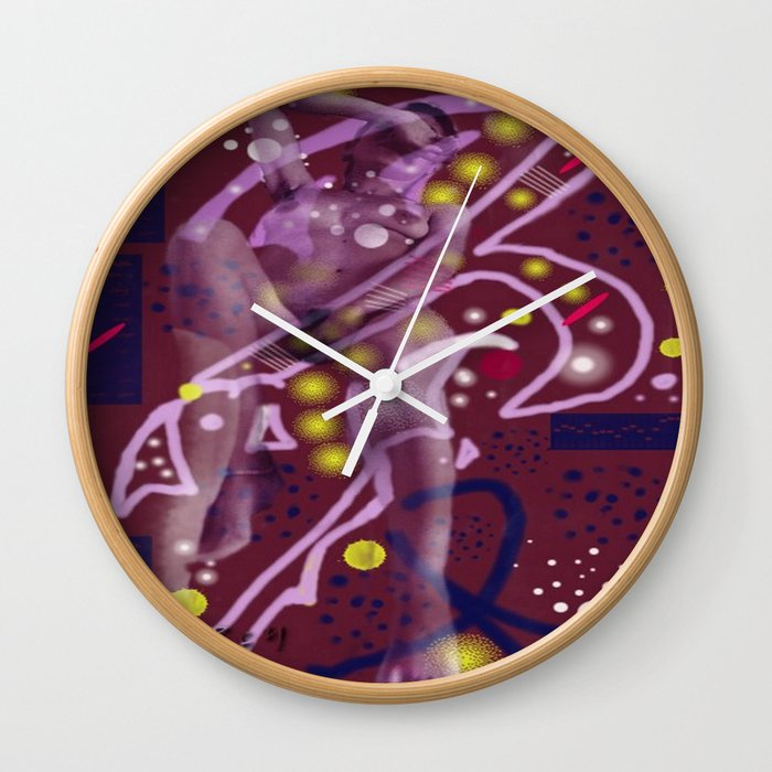 Homage to Balzac n.1 Wall Clock