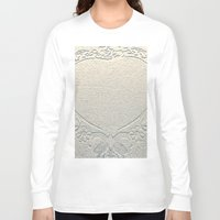 antique Long Sleeve T-shirts featuring Antique Heart by Rose Etiennette