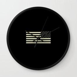 Tactical Flag Wall Clock