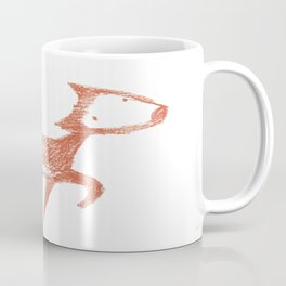 Red fox pastel drawing Coffee Mug