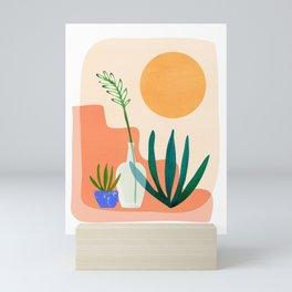 Santa Fe Summer / Abstract Landscape Mini Art Print