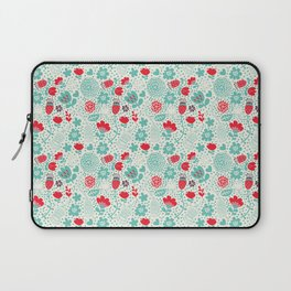 Floral owls Laptop Sleeve