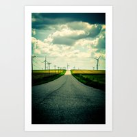 The Long Way Home Art Print