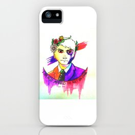 May Death Never Stop You iPhone Case