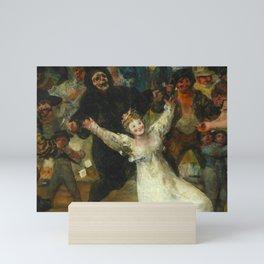 THE BURIAL OF THE SARDINE (detail) - FRANCISCO DE GOYA  Mini Art Print