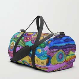 Cosmic Forest Duffle Bag