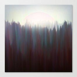 Forest Sun Canvas Print