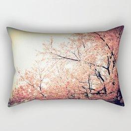 Cherry Blossom Nostalgia Rectangular Pillow