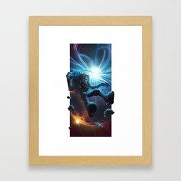 Oxygéne Framed Art Print